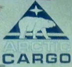 "Arctic Cargo logo on helicopter in ""Man of Steel"""