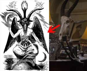 More Superman Bible Similarities, the devil, Baphomet in the 1978 Superman.