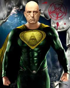 Super Aleister Crowley? Superman Occult Symbolism