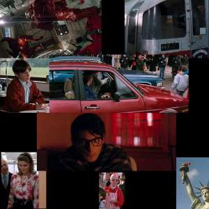 Superman Color Symbolism in Superman 4 (1987) and it's all red.