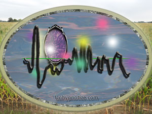 A depiction of how frequency creates our reality throughout different dimensions.