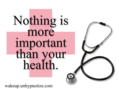 is your beauty more important than your health essay