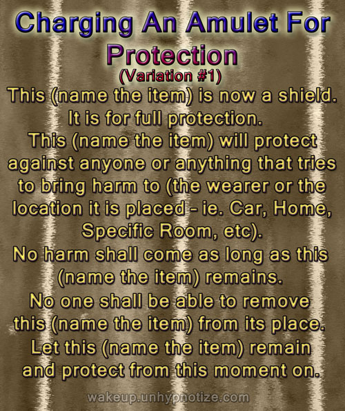 Protection Chants For Protection Spells Wake Up And