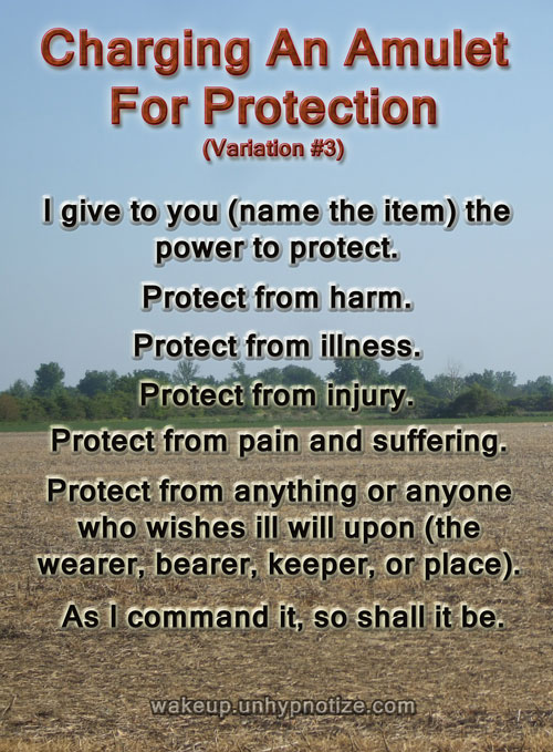 Protection Chants For Protection Spells - Wake up and Unhypnotize