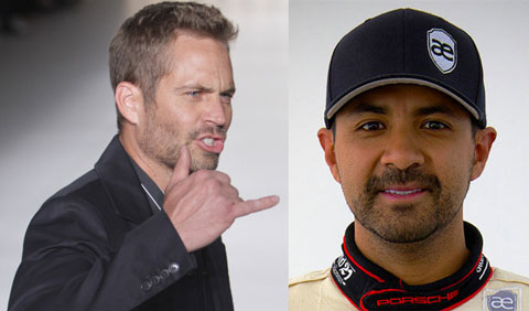 Paul Walker (left) and Roger Rodas (right). Both men supposedly died in a horrible car crash on Saturday November 30th, 2013.